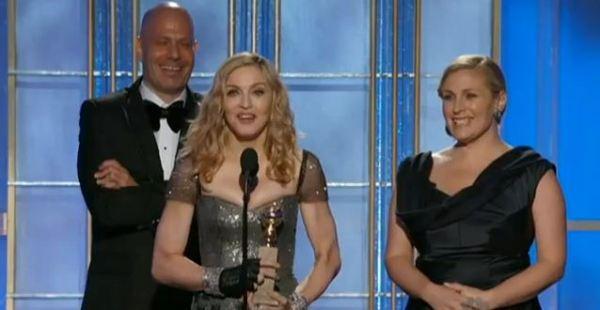madgegolden 600x310 Madonna: Masterpiece vince il Golden Globe