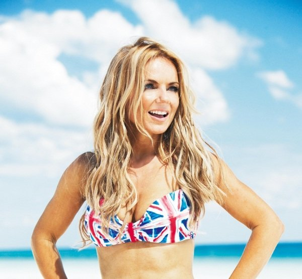 Geri Halliwell for The Union Jack Collection Next Spring 2012  photoshoot