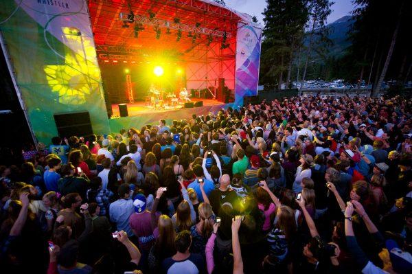 Jason Mraz performing at the summer concert series at celebration plaza