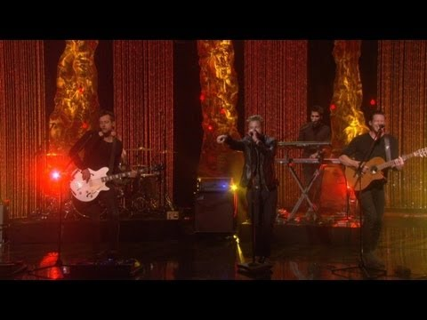 Video thumbnail for youtube video I OneRepublic cantano Counting Stars da Ellen
