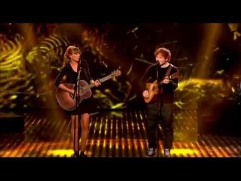 Video thumbnail for youtube video T. Swift con Ed Sheeran live a Britain got talent e Summertime Ball