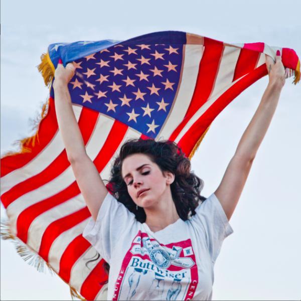 Lana Del Rey flag