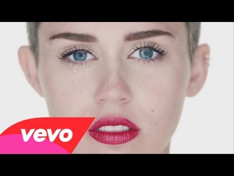 Video thumbnail for youtube video Miley Cyrus - Wrecking Ball   video premiere