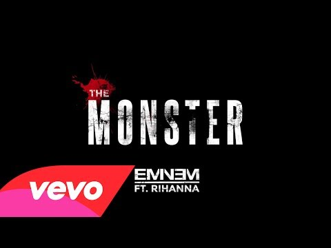 Video thumbnail for youtube video Eminem feat. Rihanna - The Monster   Secondo Singolo