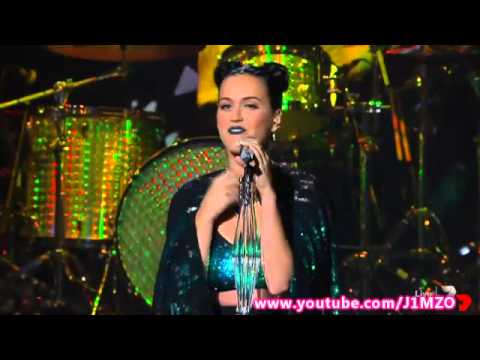 Video thumbnail for youtube video Katy Perry canta Roar ed Unconditionally ad X-Factor Australia
