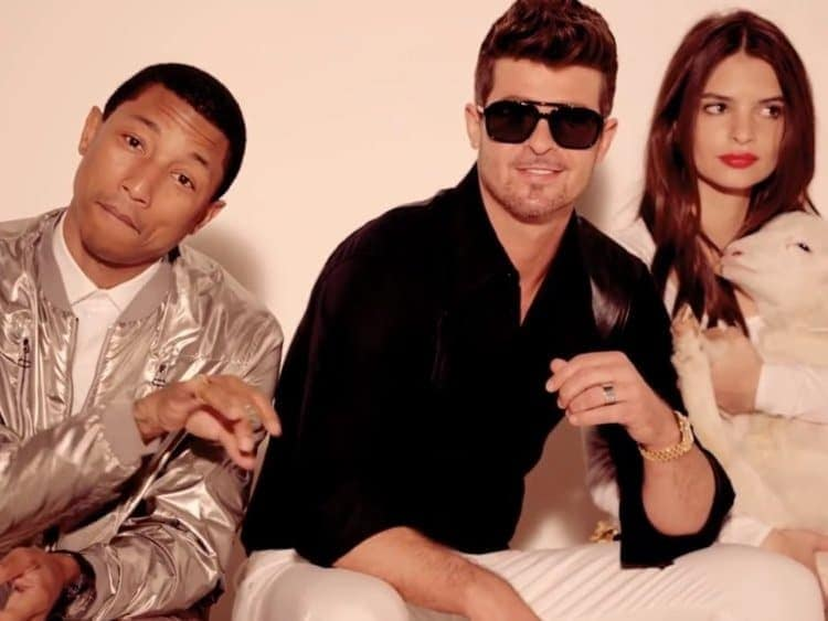 "Photo of Disastro Robin Thicke: ""Blurred Lines"" 5 milioni di risarcimento per plagio"