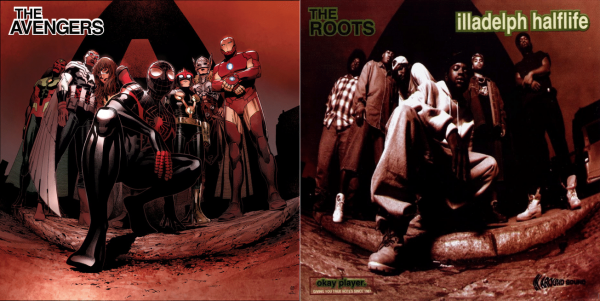 "All-New All-Different Avengers #1 - The Roots ""Illadelph Halflife"" – art by Jim Cheung"