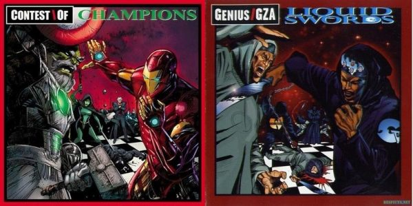 Denys Cowan & Bill Sienkewicz mix Contest of Champions with GZA's Liquid Swords