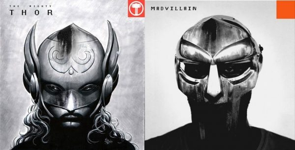 Mike Deodato mixes Mighty Thor with Madvillain's Madvillainy