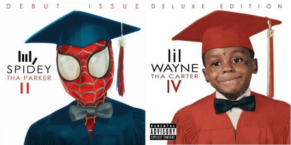The Legend of Mr. Rager; Gyimah Gariba mixes Spidey with Lil Wayne's Tha Carter IV