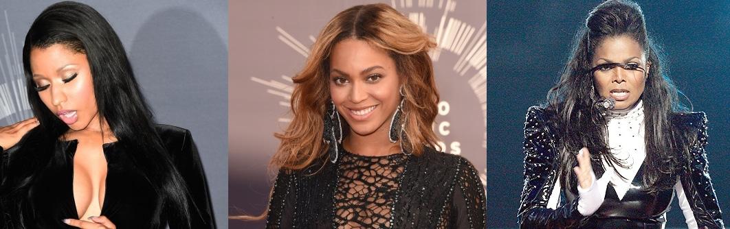 Photo of Nicki Minaj, Chris Brown, Beyonce, Janet Jackson nello stesso show di BET