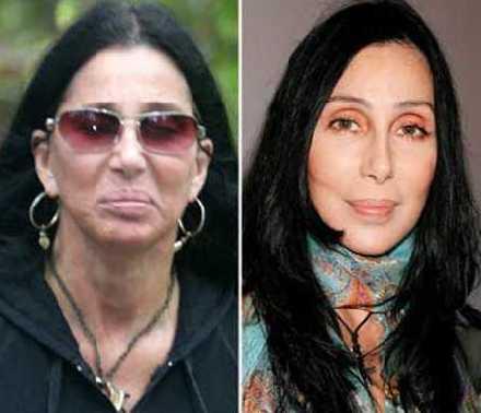 No-Makeup-Celebrities-Cher