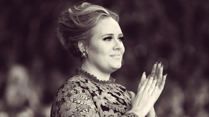 LOS ANGELES, CA - FEBRUARY 10: Singer Adele attends the 55th Annual GRAMMY Awards at STAPLES Center on February 10, 2013 in Los Angeles, California. (Photo by Christopher Polk/Getty Images for NARAS)