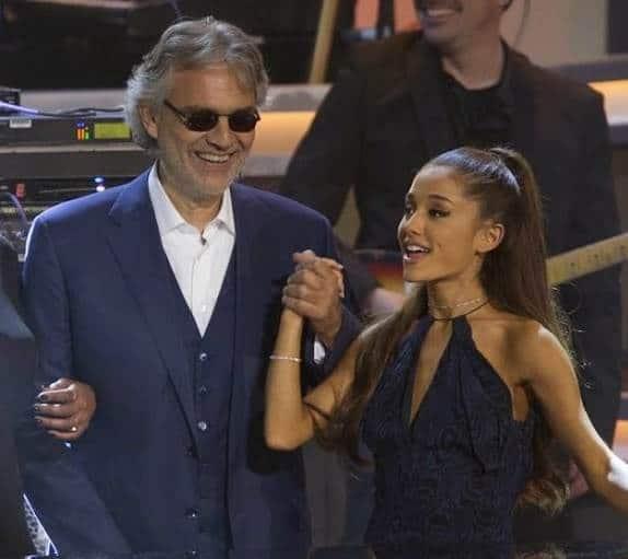 Ariana-Grande-e-Andrea-Bocelli-parceria