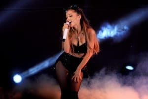 LOS ANGELES, CA - OCTOBER 24: Singer Ariana Grande performs onstage during CBS Radio's We Can Survive at the Hollywood Bowl (presented by 5 Hour Energy) on October 24, 2014 in Los Angeles, California. (Photo by Kevin Winter/Getty Images for CBS Radio Inc.)