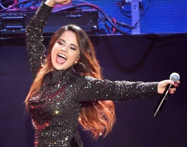Becky G 2014 iHeartRadio Fiesta Latina La Villita in Inglewood 2756617