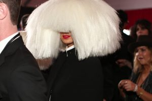 LOS ANGELES, CA - FEBRUARY 08: Recording artist Sia attends The 57th Annual GRAMMY Awards at the STAPLES Center on February 8, 2015 in Los Angeles, California. (Photo by Christopher Polk/WireImage) ORG XMIT: 534935743 ORIG FILE ID: 463014396