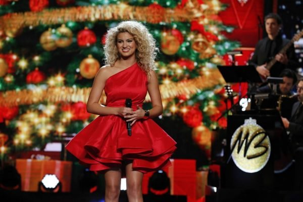 MICHAEL BUBLE'S CHRISTMAS IN HOLLYWOOD -- Pictured: Tori Kelly -- (Photo by: Vivian Zink/NBC/NBCU Photo Bank)
