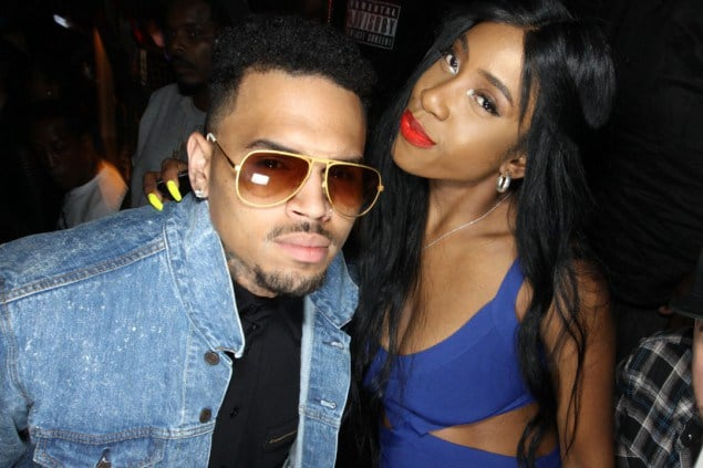 8e678f1fb8 singer chris brown and singer sevyn streeter e1404966118694