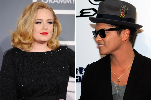 Adele-and-Bruno-Mars
