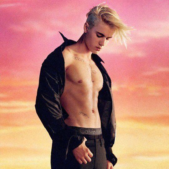 Justin Bieber MyCalvins 4