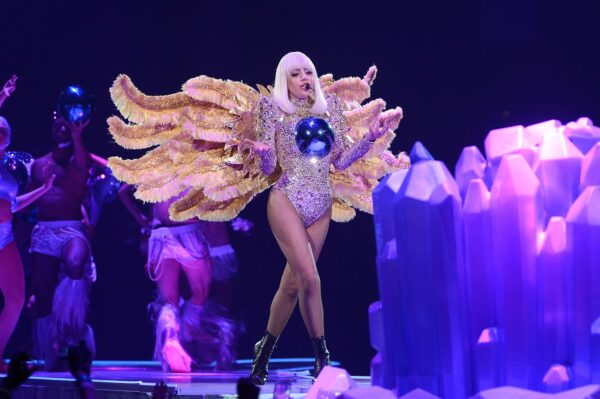 "SUNRISE, FL - MAY 04: Lady Gaga performs onstage during ""The ARTPOP Ball"" tour opener at BB&T Center on May 4, 2014 in Sunrise, Florida. (Photo by Kevin Mazur/WireImage)"