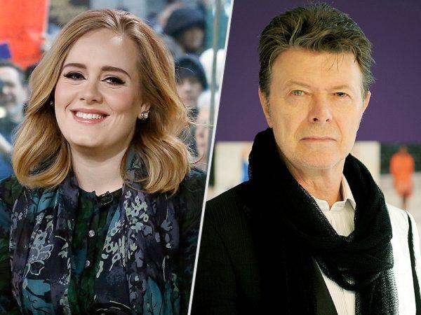 Adele David Bowie