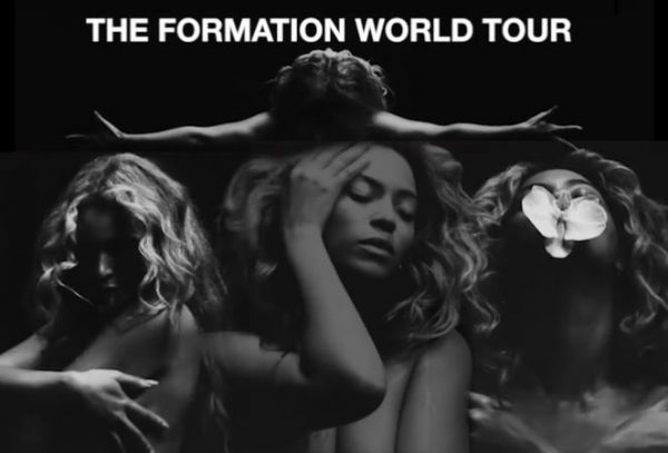 beyoncé formation world tour