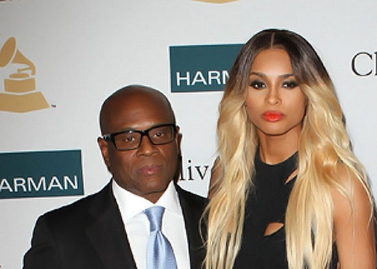 L.A. Reid, Ciara Clive Davis And The Recording Academy's 2012 Pre-GRAMMY Gala  Held at Beverly Hilton Hotel Los Angeles, California - 11.02.12 Mandatory Credit: FayesVision/WENN.com