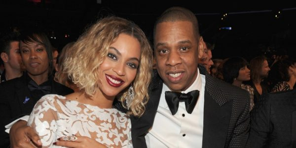 LOS ANGELES, CA - JANUARY 26: Beyonce and Jay-Z attend the 56th GRAMMY Awards at Staples Center on January 26, 2014 in Los Angeles, California. (Photo by Kevin Mazur/WireImage)