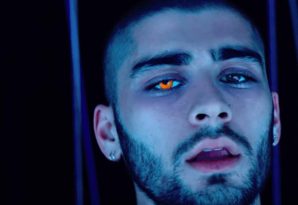 Orange-Eyed-Zayn-Malik-Releases-If-I-Would-Video