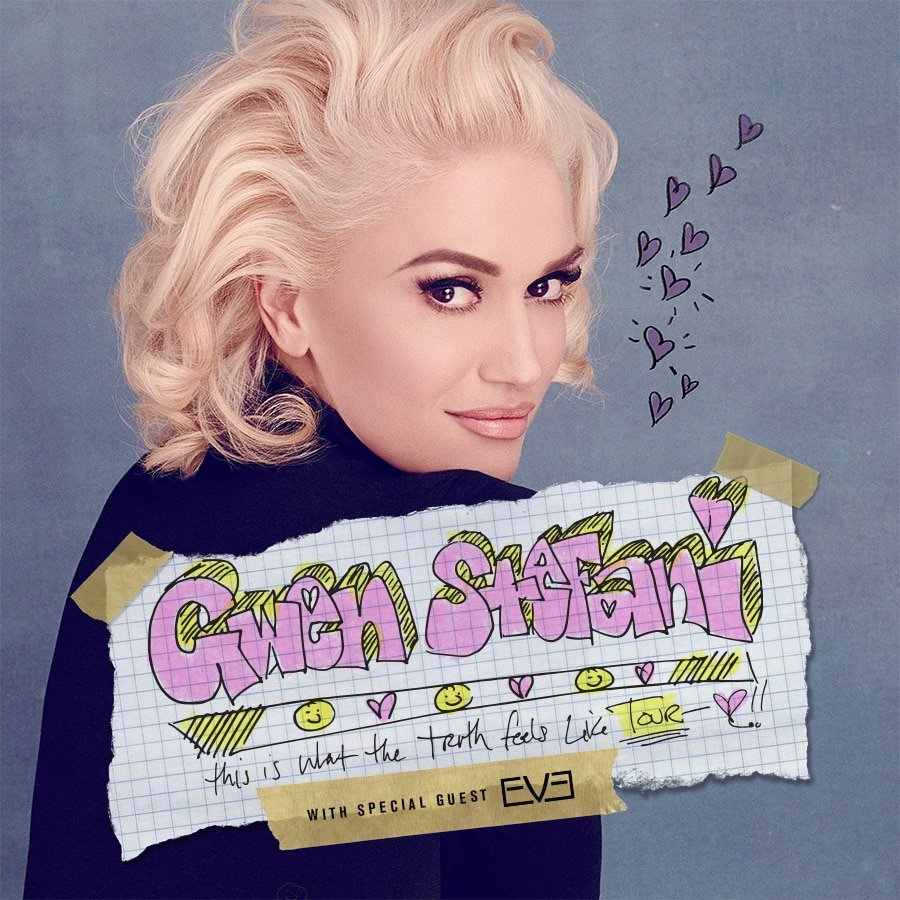 Photo of Gwen Stefani annuncia il This Is What The Truth Feels Like Tour!
