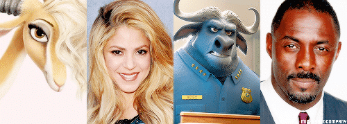 Shakira e Idris Elba