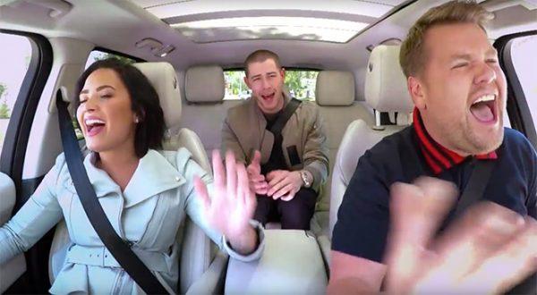 Nick-Demi-James-Corden-Carpool