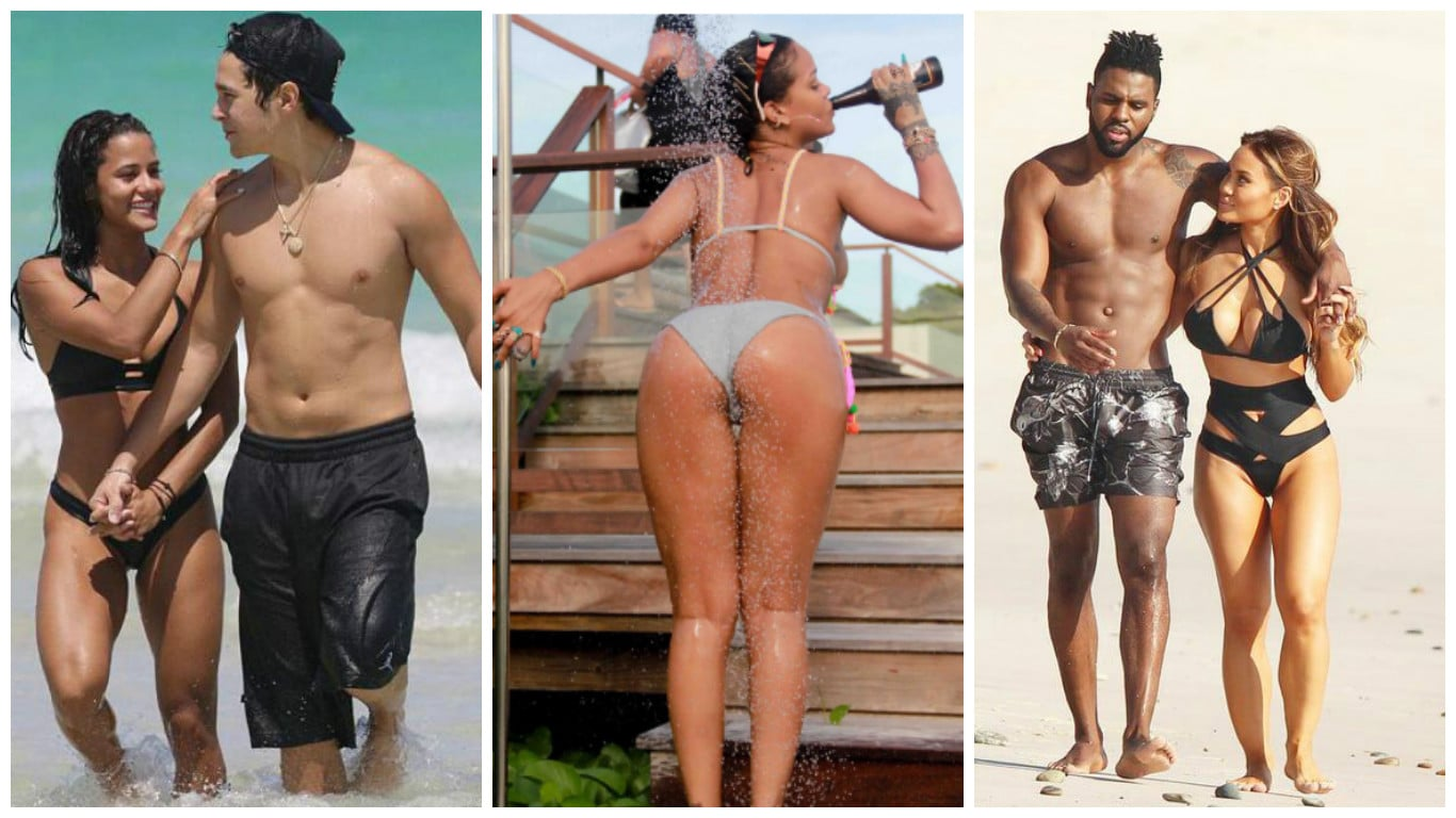 Photo of JunkGossip: estate bollente per Rihanna, Derulo ed Austin! Sheeran fidanzato + nuove copertine