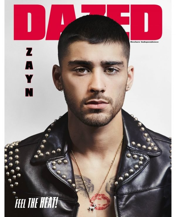 ZAYN DAZED INSTAGRAM COVER