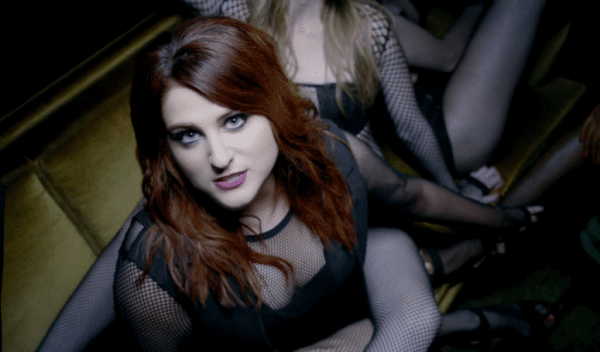 meghan-trainor-in-no-music-video