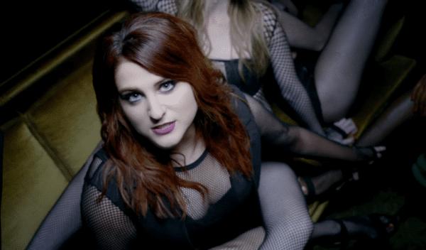 meghan-trainor-in-no-music-video