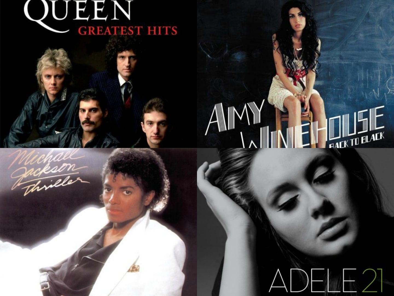 Photo of Ecco i 50 album più venduti di sempre nel Regno Unito