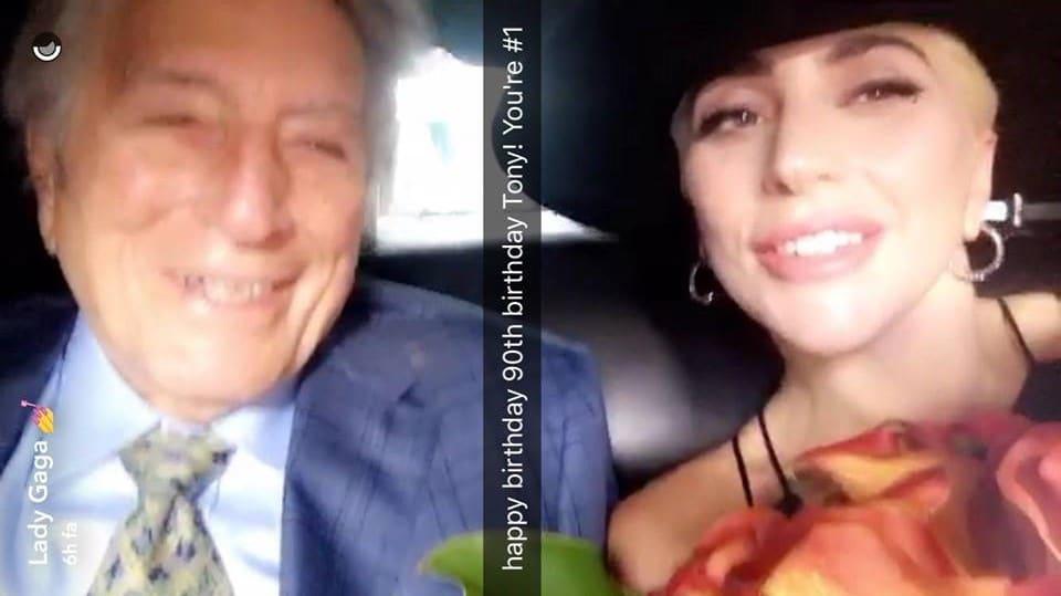 Lady-Gaga-Tony-Bennett-SnapChat