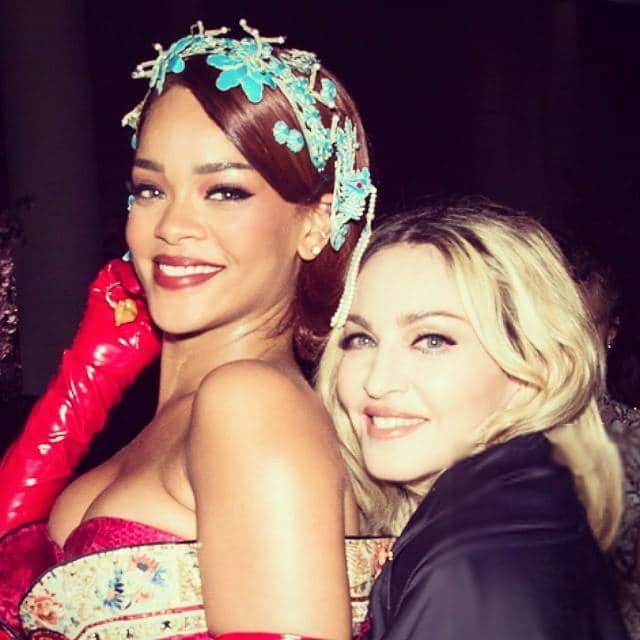 Rihanna Madonna