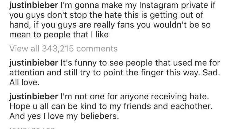 Bieber-Instagram