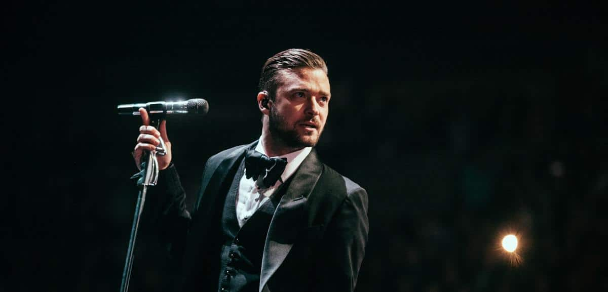 Thousands packed Key Arena in Seattle, WA for Justin Timberlake's 20/20 Experience World Tour. Timberlake is touring behind his latest solo album The 20/20 Experience. January 17th 2013. (Joshua Lewis / KOMO News)