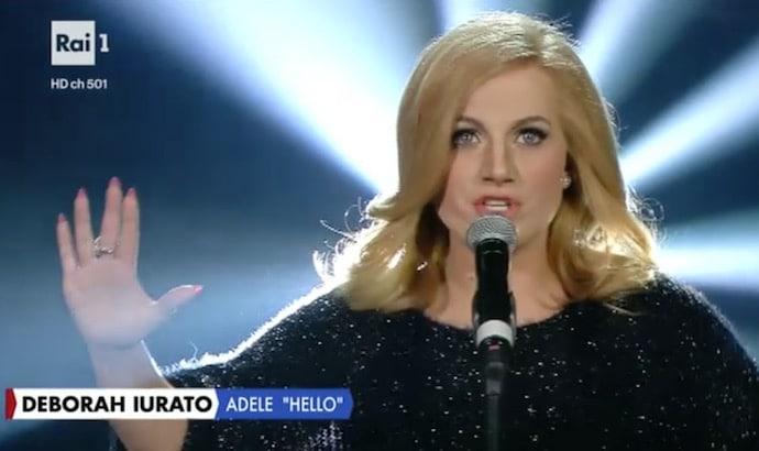 Deborah-Iurato-Imita-Adele