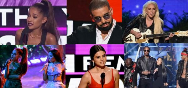 American Music Awards 2016 Vincitori E Performance