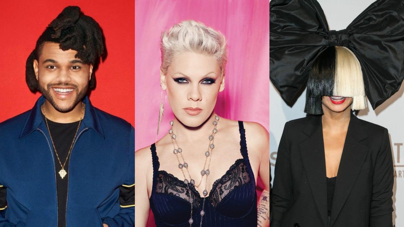 Photo of Certificazioni FIMI: Sia, The Weeknd, P!nk, Benji & Fede e molti altri