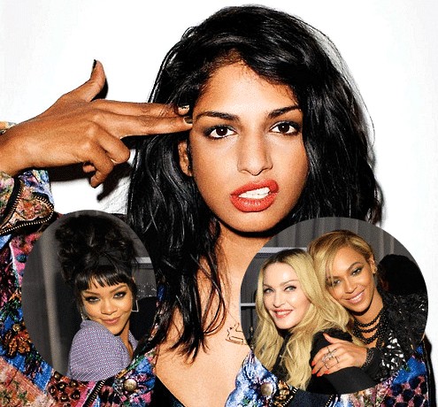 Mia Contro Madonna Beyonce Rihanna
