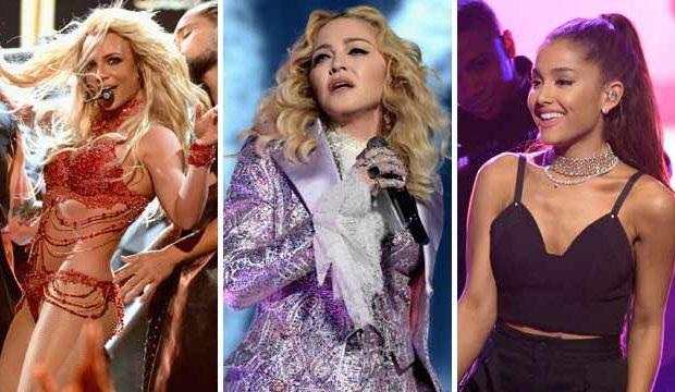 Madonna Britney Ariana Collaborazione