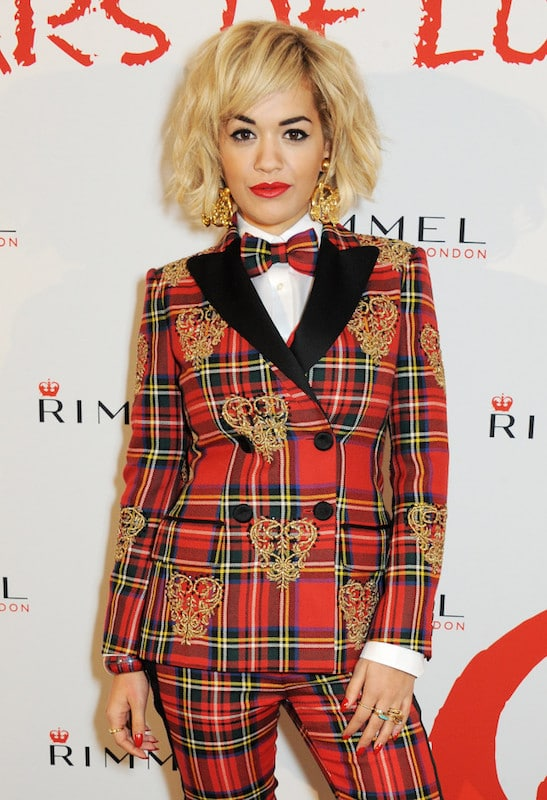 attends the Rimmel London 180 Years of Cool party at the London Film Museum on October 10, 2013 in London, England.