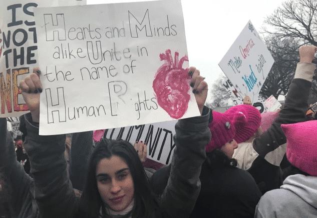 Photo of Lauren Jauregui parla della Women's March e della forza delle donne
